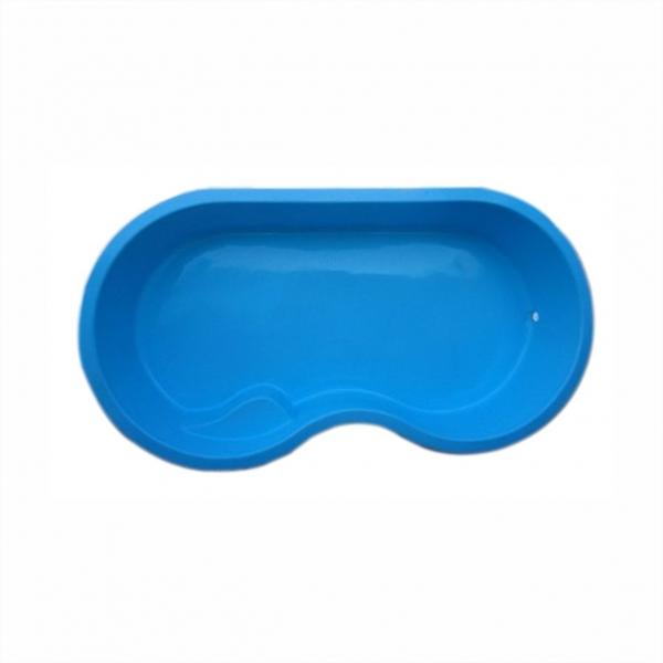 Piscina de fibra tamanho 3 26c x 1 75l x 0 52p m bilear for Valor piscina de fibra